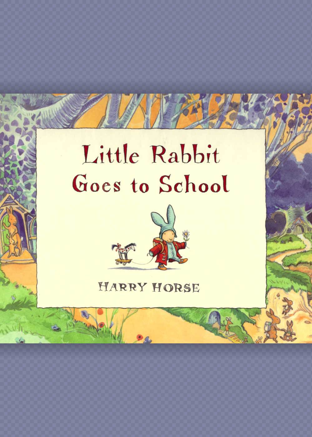 Cover Little Rabbit Goes to School
